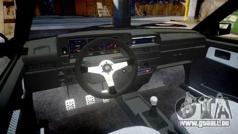 VAZ-2109 alliage pour GTA 4 est une vue de l'intérieur
