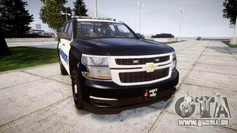 Chevrolet Tahoe 2015 Sheriff [ELS] pour GTA 4