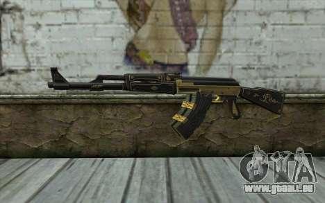 AK47 from PointBlank v1 für GTA San Andreas