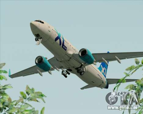 Boeing 737-800 XL Airways für GTA San Andreas Motor