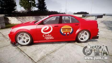 Albany Presidente Racer [retexture] eCola für GTA 4 linke Ansicht