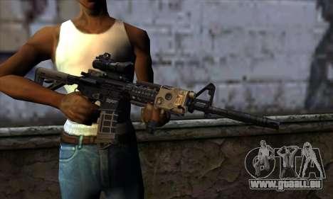 AR15 bushmaster pour GTA San Andreas troisième écran