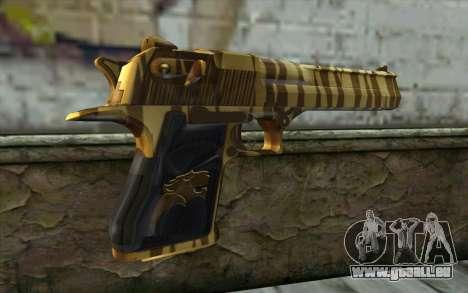 Desert Eagle Gold v2 für GTA San Andreas zweiten Screenshot