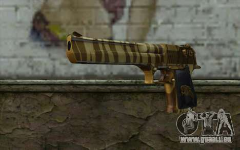 Desert Eagle Gold v1 pour GTA San Andreas