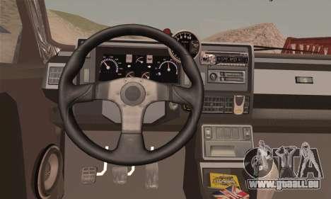 Renault 5 pour GTA San Andreas sur la vue arrière gauche