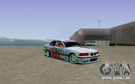 BMW E36 Bridgstone für GTA San Andreas