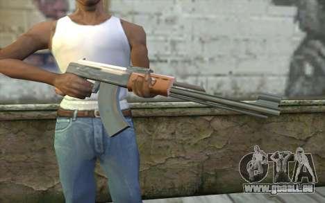 AK-47, Ohne den Hintern für GTA San Andreas dritten Screenshot
