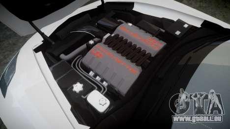 Chevrolet Corvette C7 Stingray 2014 v2.0 TireYA2 pour GTA 4 est un côté