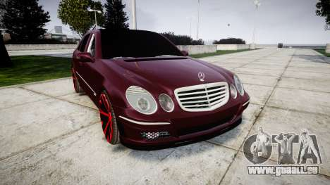 Mercedes-Benz W211 E55 AMG pour GTA 4