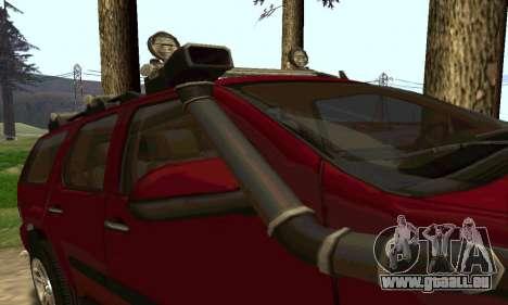 Chevrolet Tahoe Final pour GTA San Andreas vue de droite