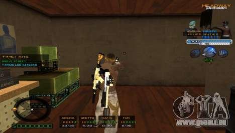 Super C-PALETTE pour GTA San Andreas deuxième écran