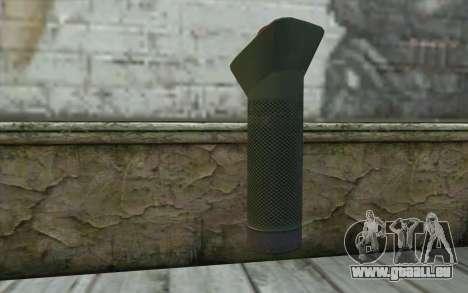 Nouveau Détonateur (Sniper Guerrier Fantôme) pour GTA San Andreas deuxième écran