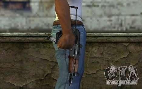 Pistolet Guépard pour GTA San Andreas troisième écran