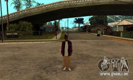 The Ballas Skin Pack für GTA San Andreas fünften Screenshot
