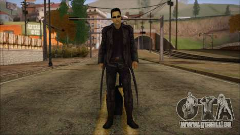 Neo Matrix Skin für GTA San Andreas