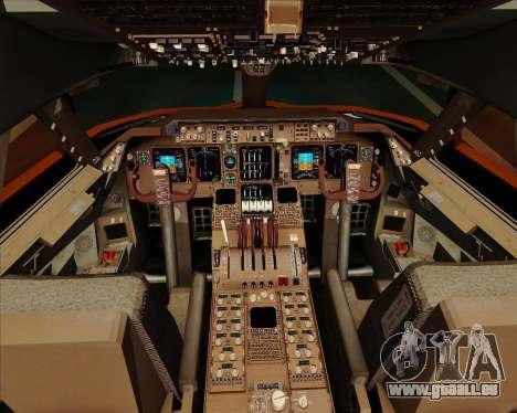 Boeing 747-100 Trans World Airlines (TWA) für GTA San Andreas Innen