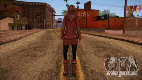 Modern Woman Skin 10 v2 pour GTA San Andreas deuxième écran