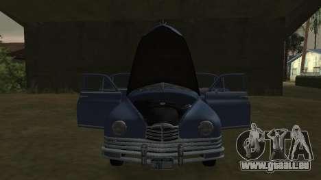 Packard Touring  Sedan pour GTA San Andreas sur la vue arrière gauche