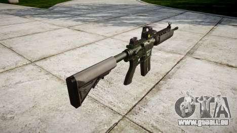 Machine M4A1 pour GTA 4 secondes d'écran