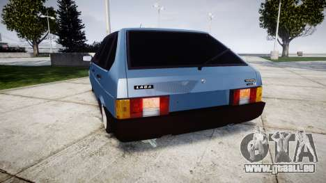 AIDE-Lada 2109 1500i pour GTA 4 Vue arrière de la gauche