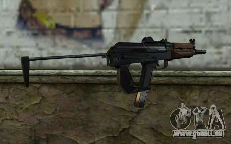 Pistolet Guépard pour GTA San Andreas deuxième écran