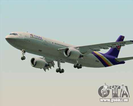 Airbus A300-600 Thai Airways International für GTA San Andreas Innenansicht