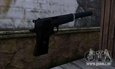 New Silenced Colt45 pour GTA San Andreas deuxième écran