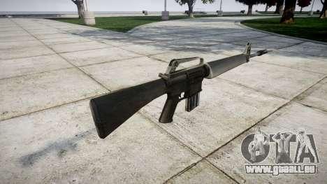 Le fusil M16A1 pour GTA 4 secondes d'écran