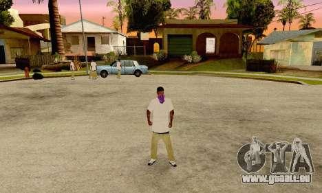 The Ballas Gang Skin Pack pour GTA San Andreas