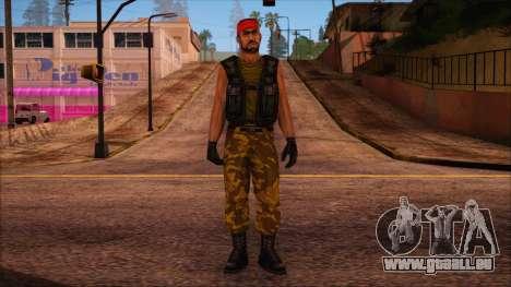 Guerilla from Counter Strike Condition Zero pour GTA San Andreas