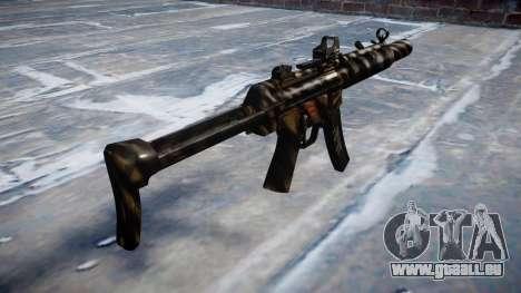 Gun MP5SD DRS FS c-Ziel für GTA 4 Sekunden Bildschirm