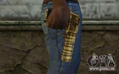 Desert Eagle Gold v1 für GTA San Andreas dritten Screenshot