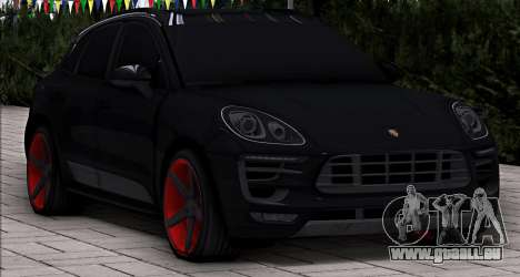 Porsche Macan Vossen pour GTA San Andreas sur la vue arrière gauche