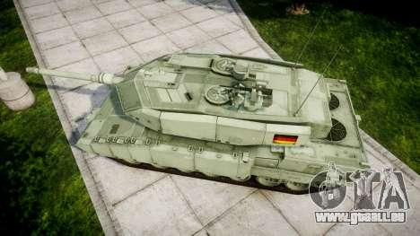 Leopard 2A7 DE Green für GTA 4 rechte Ansicht