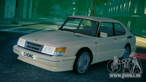 Saab 900 Coupe Turbo für GTA 4