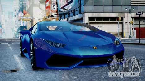 Lamborghini Huracan LP610-4 from Horizon 2 für GTA 4