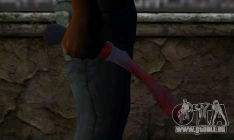 Bloody Machete from Far Cry für GTA San Andreas dritten Screenshot