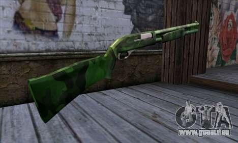 Chromegun v2 Militärischen färben für GTA San Andreas zweiten Screenshot