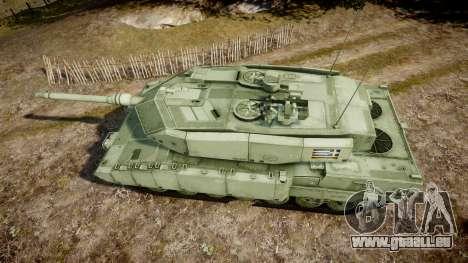 Leopard 2A7 GR Green pour GTA 4 est un droit