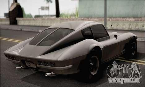 Invetero Coquette Classic v1.1 für GTA San Andreas zurück linke Ansicht
