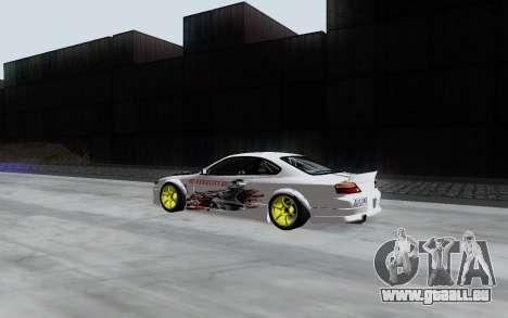 Nissan Silvia S15 VCDT pour GTA San Andreas sur la vue arrière gauche