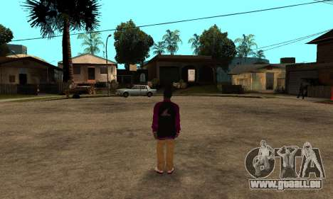 The Ballas Skin Pack für GTA San Andreas sechsten Screenshot