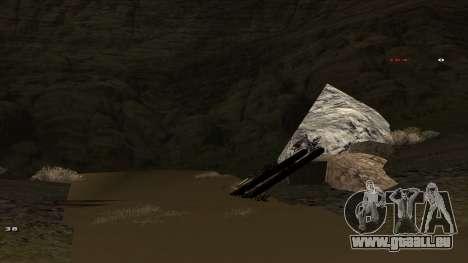Трасса Offroad v1.1 par Rappar313 pour GTA San Andreas cinquième écran