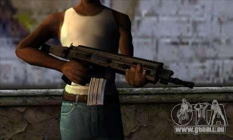 CZ805 из Battlefield 4 für GTA San Andreas dritten Screenshot