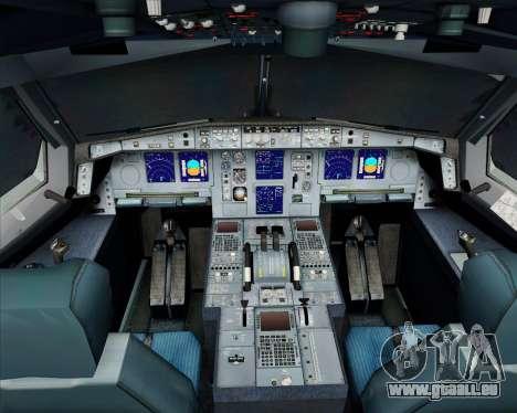 Airbus A340-300 Air Koryo für GTA San Andreas Innen
