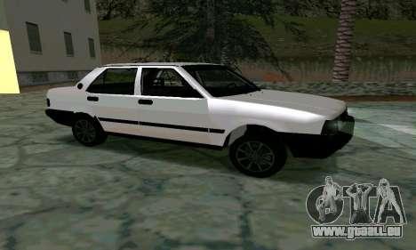 Tofas Sahin Taxi pour GTA San Andreas laissé vue