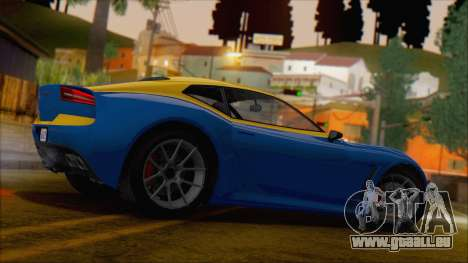 GTA 5 Lampadati Furore GT (IVF) pour GTA San Andreas laissé vue