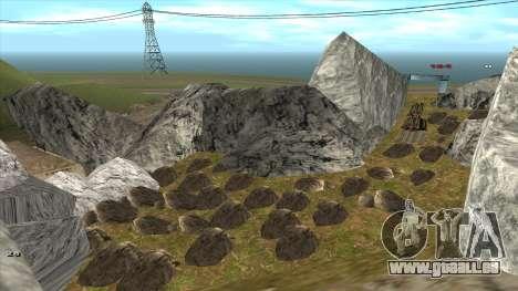 Трасса Offroad v1.1 par Rappar313 pour GTA San Andreas dixième écran