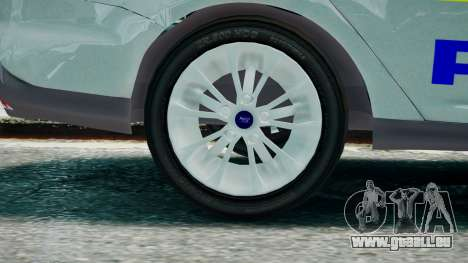 Met Police Ford Focus Estate IRV ELS 8 2013 pour GTA 4 Vue arrière de la gauche