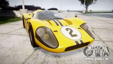 Ford GT40 Mark IV 1967 PJ 2 pour GTA 4